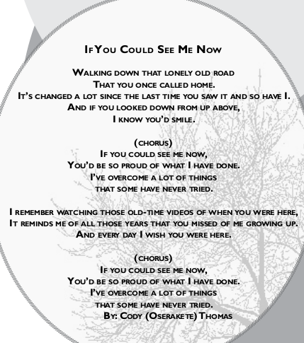 If You Could See Me Now by Cody Oserakete Thomas